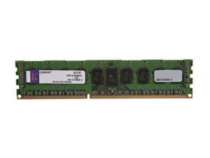 Kingston 4GB 240-Pin DDR3 SDRAM ECC Registered DDR3 1333 (PC3 10600) Server Memory DR x8 1.35V Intel Model KVR13LR9D8/4I