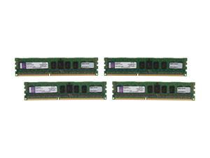 Kingston 16GB (4 x 4GB) 240-Pin DDR3 SDRAM ECC Registered DDR3 1333 Server Memory SR x4 Intel Model KVR13R9S4K4/16I