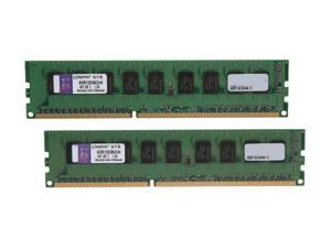 Kingston 4GB (2 x 2GB) 240-Pin DDR3 SDRAM ECC Unbuffered DDR3 1333 (PC3 10600) Server Memory  Intel Model KVR13E9K2/4I