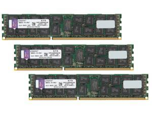 Kingston 48GB (3 x 16GB) 240-Pin DDR3 SDRAM Server Memory DR x4 1.35V Intel Model KVR13LR9D4K3/48I