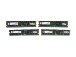 Kingston 32GB (4 x 8GB) 240-Pin DDR3 SDRAM Server Memory DR x4 1.35V Intel Model KVR13LR9D4K4/32I