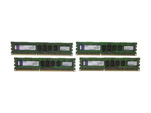 Kingston 16GB (4 x 4GB) 240-Pin DDR3 SDRAM ECC Registered DDR3 1600 (PC3 12800) Server Memory DR x8 Model KVR16R11D8K4/16