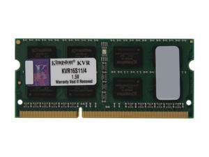 Kingston 4GB 204-Pin DDR3 SO-DIMM DDR3 1600 Laptop Memory