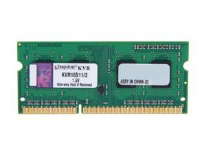Kingston 2GB 204-Pin DDR3 SO-DIMM DDR3 1600 Laptop Memory