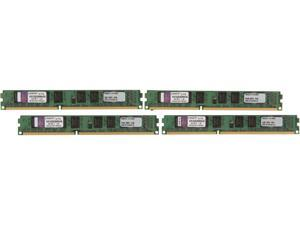 Kingston ValueRAM 8GB (4 x 2GB) 240-Pin DDR3 SDRAM DDR3 1333 (PC3 10600) Desktop Memory