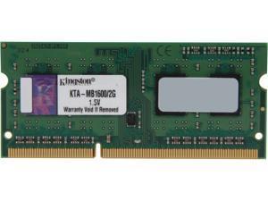 Kingston 2GB 204-Pin DDR3 SO-DIMM Memory for Apple