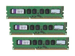 Kingston 24GB (3 x 8GB) 240-Pin DDR3 SDRAM ECC Unbuffered DDR3 1600 Server Memory w/TS Model KVR16E11K3/24