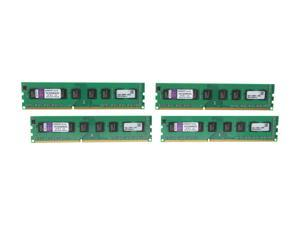 Kingston 32GB (4 x 8GB) 240-Pin DDR3 SDRAM Unbuffered DDR3 1333 Server Memory STD Height 30mm Model KVR1333D3N9HK4/32G
