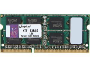 Kingston 8GB 204-Pin DDR3 SO-DIMM DDR3 1333 System Specific Memory Model KTT-S3B/8G