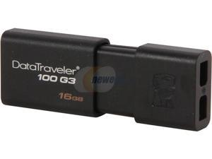 Kingston DataTraveler 100 G3 16GB USB 3.0 Flash Drive Model DT100G3/16GB