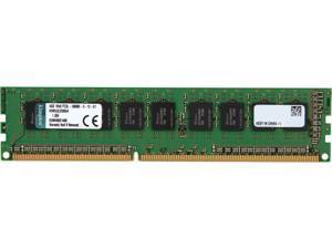 Kingston 4GB 240-Pin DDR3 SDRAM ECC Unbuffered DDR3 1333 Server Memory Model KVR13LE9S8/4