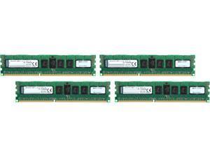 Kingston 32GB (4 x 8GB) 240-Pin DDR3 SDRAM ECC Registered DDR3 1600 (PC3 12800) Server Memory Model KTH-PL316SK4/32G