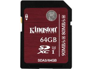 Kingston 64 GB Secure Digital Extended Capacity (SDXC)