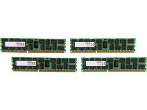 Kingston 64GB (4 x 16GB) 240-Pin DDR3 SDRAM ECC Registered DDR3 1866 Server Memory Model KVR18R13D4K4/64