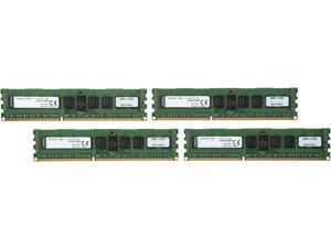 Kingston 32GB (4 x 8GB) 240-Pin DDR3 SDRAM ECC Registered DDR3 1600 (PC3 12800) Server Memory Model KVR16LR11D8K4/32I