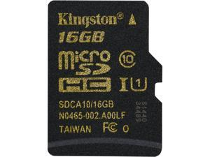 Kingston 16GB microSDHC Flash Card Model SDCA10/16GBSP