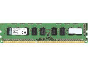 Kingston 8GB 240-Pin DDR3 SDRAM ECC Unbuffered DDR3 1600 (PC3 12800) Server Memory w/TS Hynix B Model KVR16E11/8HB