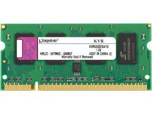 Kingston ValueRAM 1GB 200-Pin DDR2 SO-DIMM DDR2 533 (PC2 4200) Laptop Memory Model KVR533D2S4/1G