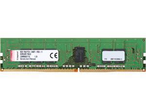 Kingston ValueRAM 8GB 288-Pin DDR4 SDRAM ECC Registered DDR4 2400 (PC4  19200) Memory (Server Memory) Model KVR24R17S8 8 e93c75f83808