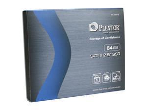 """Plextor PX-64M1S 2.5"""" 64GB SATA II Internal Solid State Drive (SSD)"""