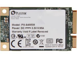 Plextor M5M PX-64M5M 64GB Mini-SATA (mSATA) MLC Internal Solid State Drive (SSD)