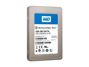 "Western Digital SiliconEdge Blue SSC-D0256SC-2100 2.5"" 256GB SATA II MLC Internal Solid State Drive (SSD) - OEM"