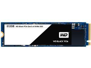WD Black 512GB Performance SSD - 8 Gb/s M.2 2280 PCIe NVMe Solid State Drive - WDS512G1X0C
