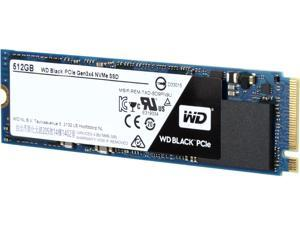 WD Black 512GB Performance SSD - M.2 2280 PCIe NVMe Solid State Drive - WDS512G1X0C