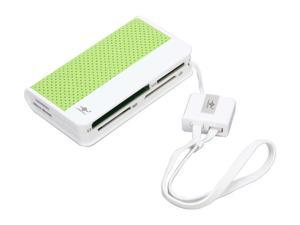 VANTEC UGT-CR100-GR 66-in-1 USB 2.0 Green Card Reader / Writer