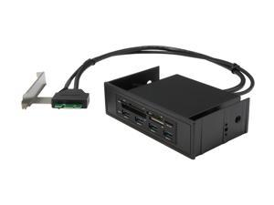 VANTEC UGT-CR945 9pin USB Header, PCIe USB 3.0 Upgrade Kit with Card Reader