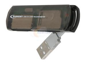 SABRENT CRW-MNAE All-in-one USB 2.0 External Flash Memory Mini Multi Card Reader & Writer