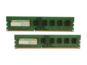 Silicon Power 16GB (2 x 8GB) 240-Pin DDR3 SDRAM DDR3 1333 (PC3 10600) Desktop Memory Model SP016GBLTU133N22