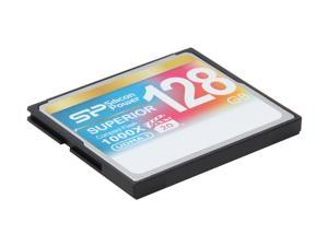 Silicon Power Superior 128GB Compact Flash (CF) Flash Card