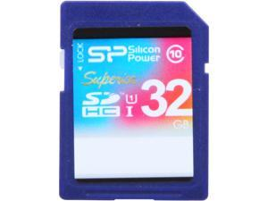 Silicon Power Superior 32GB SDHC UHS-I Card Class 10 Full-HD Video Recording Performance 90MB/s