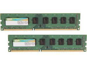 Silicon Power 16GB (2 x 8GB) 240-Pin DDR3 SDRAM DDR3 1333 (PC3 10600) Desktop Memory