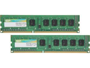 Silicon Power 8GB (2 x 4GB) 240-Pin DDR3 SDRAM DDR3 1600 (PC3 12800) Desktop Memory