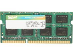 Silicon Power 2GB 204-Pin DDR3 SO-DIMM DDR3 1333 (PC3 10600) Laptop Memory