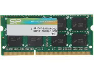 Silicon Power 8GB 204-Pin DDR3 SO-DIMM DDR3 1600 (PC3 12800) Laptop Memory