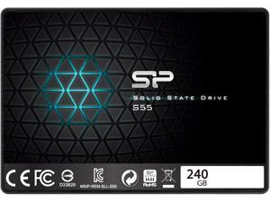 "Silicon Power S55 240GB 2.5"" 7mm SATA III Internal Solid State Drive SP240GBSS3S55S25AE"