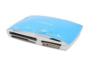 i-rocks IR-5400-BL USB 2.0 Card Reader