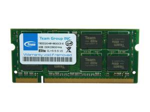Team 2GB 200-Pin DDR2 SO-DIMM DDR2 800 (PC2 6400) Laptop Memory