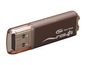 Team F108 4GB USB 2.0 Flash Drive (Brown)