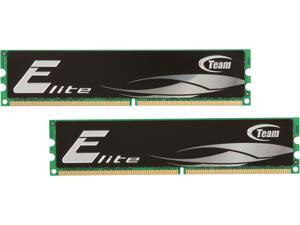 Team Elite 4GB (2 x 2GB) 240-Pin DDR2 SDRAM DDR2 667 (PC2 5300) Desktop Memory Model TEDD4096M667HC5DC