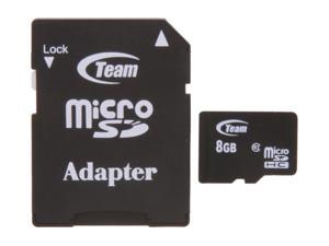 Team 8GB microSDHC Flash Card