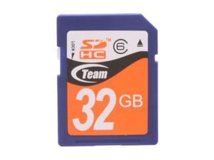 Team 32GB Secure Digital High-Capacity (SDHC) Flash Card Model TG032G0SD26X