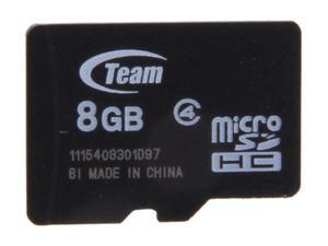 Team 8GB microSDHC Flash Card (Card Only) Model TG008G0MC24X