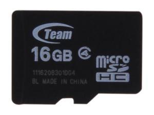 Team 16GB microSDHC Flash Card (Card Only)