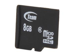Team 8GB microSDHC Flash Card (Card Only)
