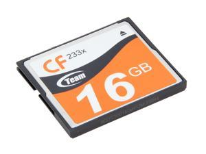 Team 16GB Compact Flash (CF) Flash Card Model TG00AG2NCFJX