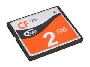 Team 2GB Compact Flash (CF) Flash Card Model TG002G2NCFFX